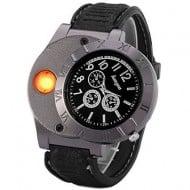 Digital USB Lighter Watch James Bond Gadget
