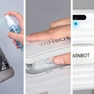 Ecovacs Winbot Window Cleaning Robot How to Clean