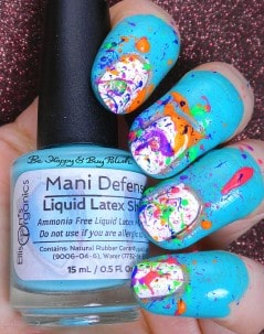 Latex for your nails.