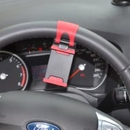 Hands Free Steering Wheel Phone Holder GPS