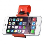 Hands Free Steering Wheel Phone Holder Gadget Accessory