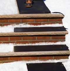 Stop shoveling those stairs.
