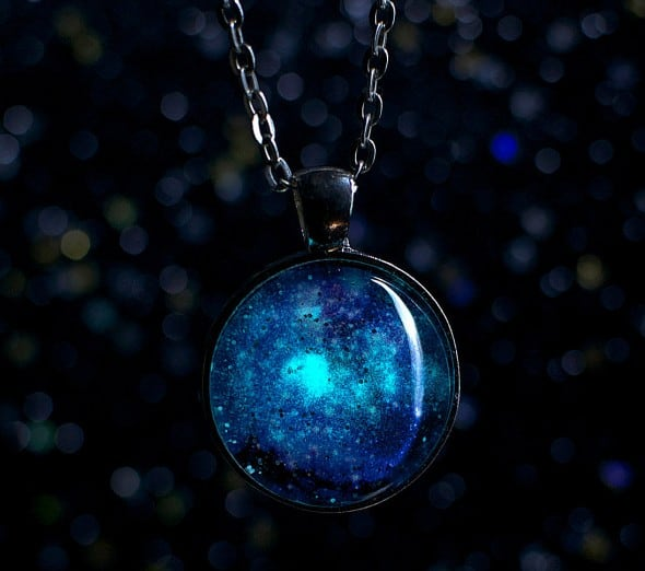 Carry a galaxy right next to your heart.
