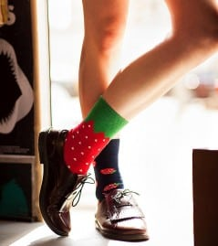 Break away from sock conformity!