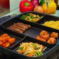Master Pan Non-Stick Divided Skillet Dorm Kitchen Must Have