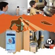 Mega Tiny Corp Anti-Gravity Selfie Case for iPhone Stick Anywhere