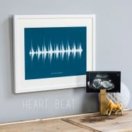 Newton and the Apple Your Voice Sound Wave Print for Kids