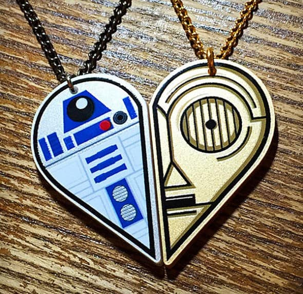 You are the R2D2 of my C3PO.