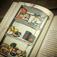 The Art of Eating Through the Zombie Apocalypse Book Cabinet Page