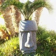 The Tiki Shop Easter Island Planter Mayan Garden Theme