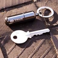 True Utility Fire Stash Key Ring Emergency Tool