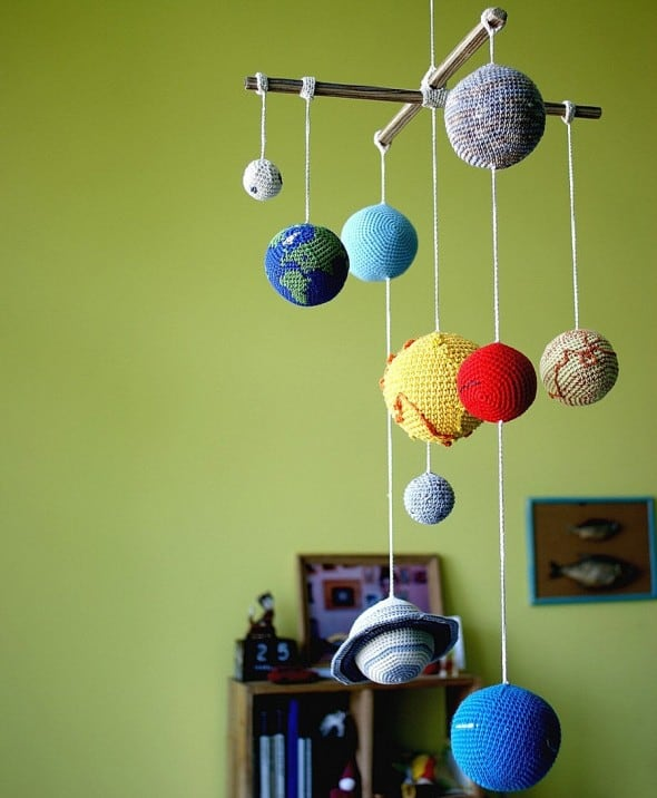 Introduce your little star to the solar system.