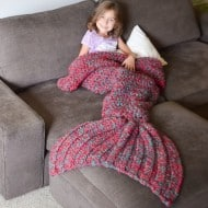 Cass James Designs Mermaid Blanket Crochet