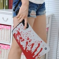 Cleaver Clutch Bag Bloody Fashion Get Up