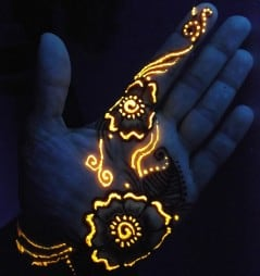 Ink up your body and light up the party.