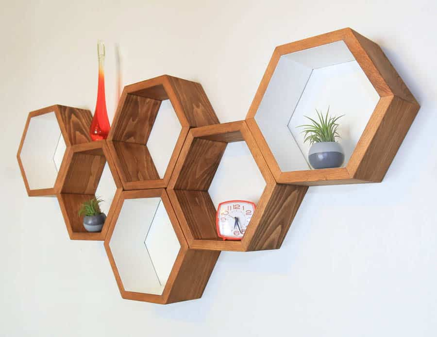 Haase Handcraft Honeycomb Shelving Noveltystreet