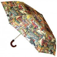 Marvel Comic Book Umbrella Gift Idea for Kids