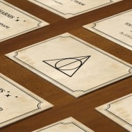 Mischiefffmanaged Harry Potter Monopoly  Craft Cards