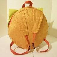 Sunshine Sisters Cheeseburger Backpack Novelty Item to Buy