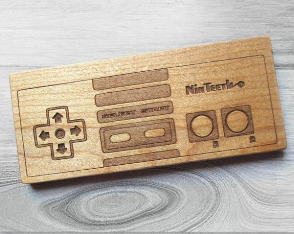 Give your baby something retro and geeky to bite on!