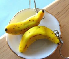 Go bananas with your earrings!