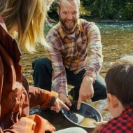 Gold Rush Nugget Bucket Engaging Outdoor Activity