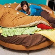 Hamburger Bed Cute Furniture