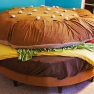 Hamburger Bed Weird Stuff to Buy