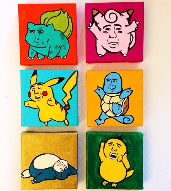 Who wouldn't want to have a Nicolas Cage Pokemon?