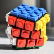 Lego Twisting  Rubrick Puzzle Cube Cool Geek Gift to Buy