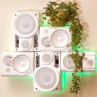 Musical Furnishings Modular HiFi Wall Sculpture Cool Room Decoration