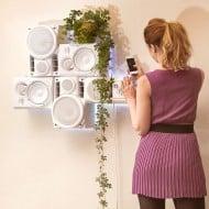 Musical Furnishings Modular HiFi Wall Sculpture Hip Room Design