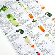 Plant Theatre Cocktail Garden Kit Drink Recipe Sheet