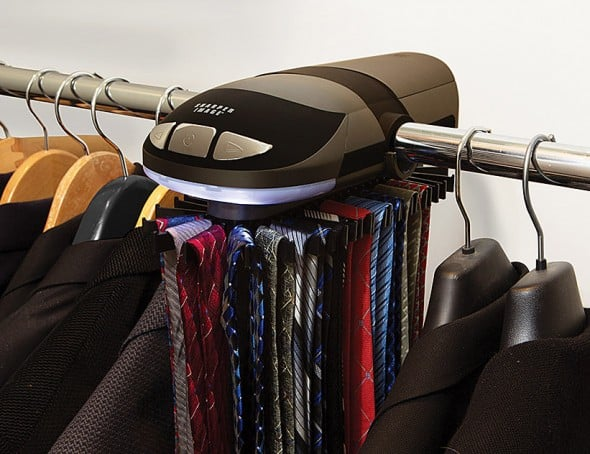 Organize your ties with style.