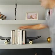 Skate Home Skateboard Bookends Cool Product to Buy
