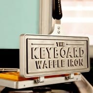 The Keyboard Waffle Iron Awesome Stuff to Buy