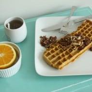 The Keyboard Waffle Iron Ideal Breakfast