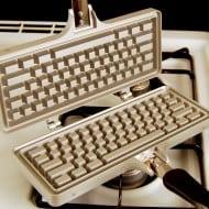 The Keyboard Waffle Iron Weird Stuff to Buy