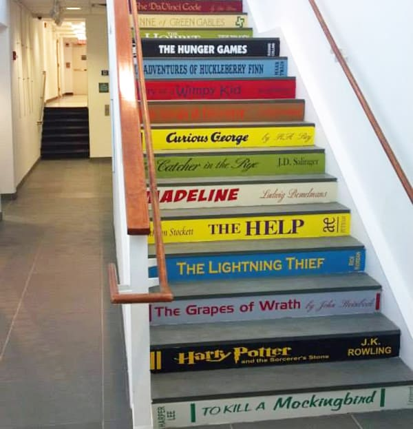 Use your favorite books to get to the top!