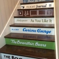 VIP Decals Book Decals for Stair Risers Unique Gift for Her