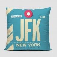 Airportag JFK Throw Pillow Trendy Product Design