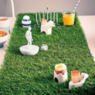 Artificial Grass Table Runner Fancy Party Decoration