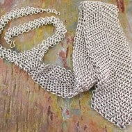 Creative Reflections Chainmaille Neck Tie Cool Dad Gift Idea