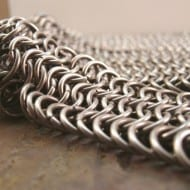 Creative Reflections Stainless Steel Chainmail Belt Weird Fashion Accessory