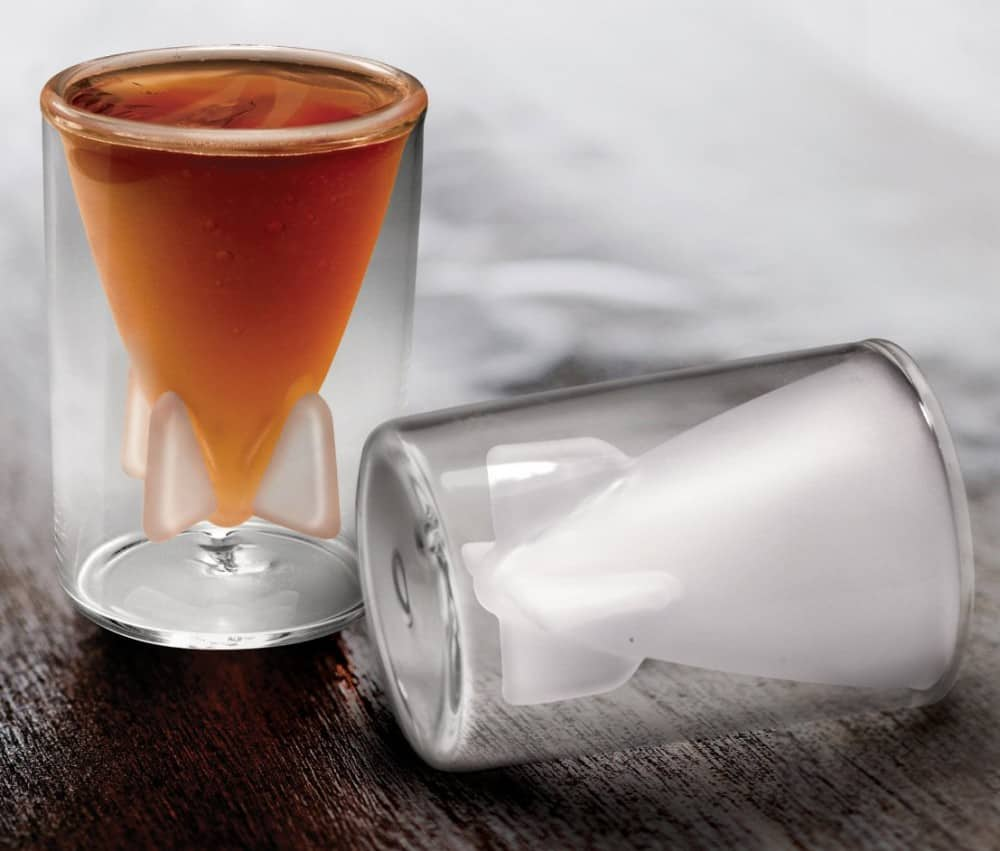 Take explosive shots of your favorite drink.