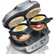 Hamilton Beach Dual Breakfast Sandwich Maker Cool Gift for Him