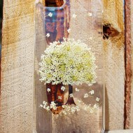 House of Blings Dried Pressed Flowers Phone Clear Case Buy for Her
