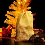 Latika Soap Bag of Coal Soap Funny Christmas Gift Idea