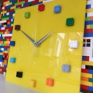 MOnki Stuff Handmade Lego Wall Clock Cool Stuff to Buy for Him