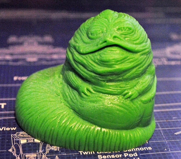 Shower and rub a little Jabba all over your body.